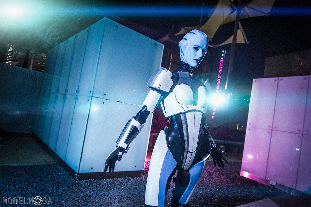 Liara (Mass Effect) by Firelight-Cosplay
