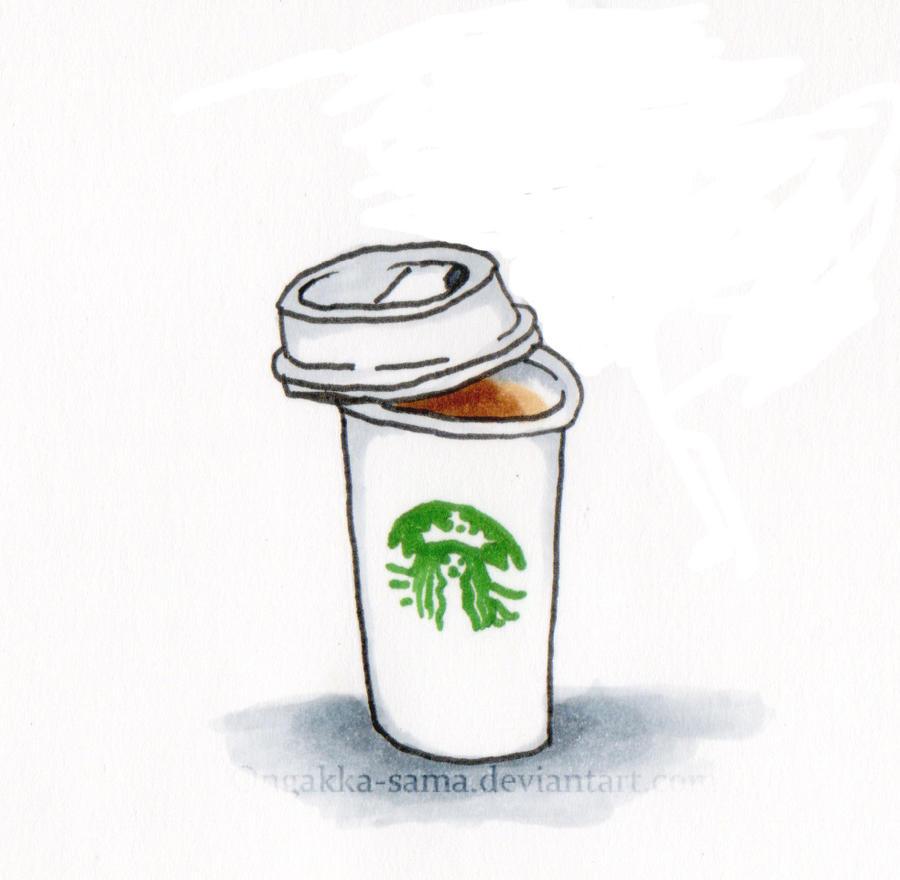 Starbucks Cup By Ongakka Sama