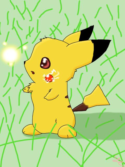 Galerie d'un chat Cute_pikachu_by_ludichat-d4ieyz2
