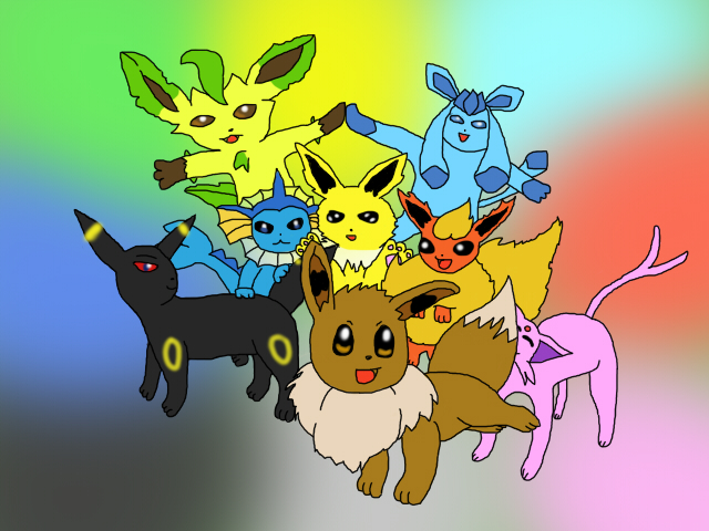 eeveelutions wallpaper