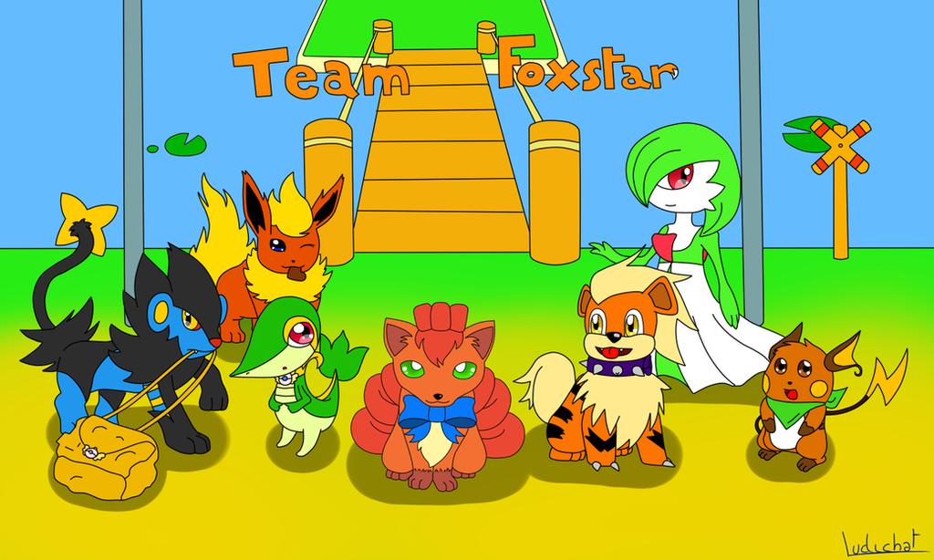 Team Foxstar by Ludichat