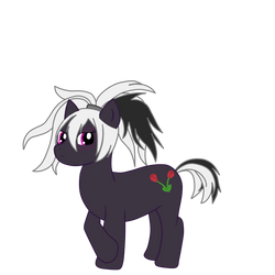 V Flower as a pony by Ludichat