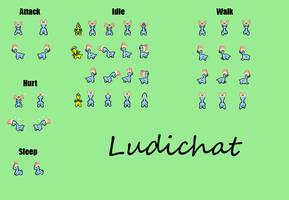 SpriteSheet698 - Amaura by Ludichat
