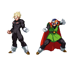 GT Saiyaman Stance Extreme Butoden by fabzouz94500