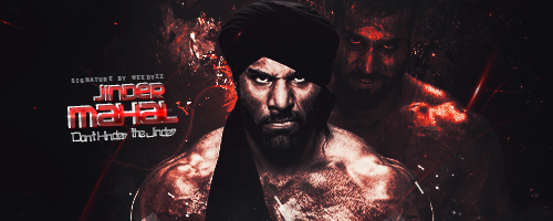 Jinder Mahal Signature by WeeDyZz