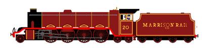 Marrison Rail Company No. 20 by steamtheboxtank