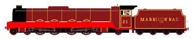 Marrison Rail Company No. 21 by steamtheboxtank