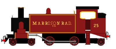 Marrison Rail Company No. 25 by steamtheboxtank