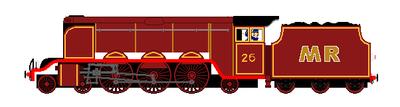 Marrison Rail Company No. 26 by steamtheboxtank