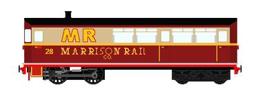Marrison Rail Company No.28 by steamtheboxtank