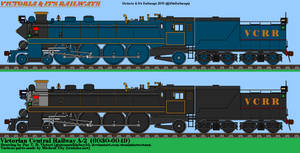 VCRR A-2 4-8-2 Mixed Traffic Locomotive