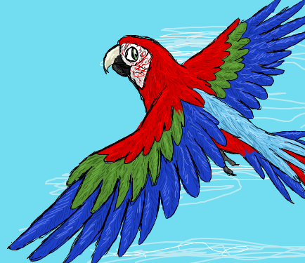 iScribble-Macaw by CavySpirit