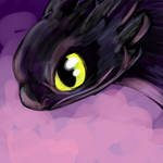 Toothless doodle thing