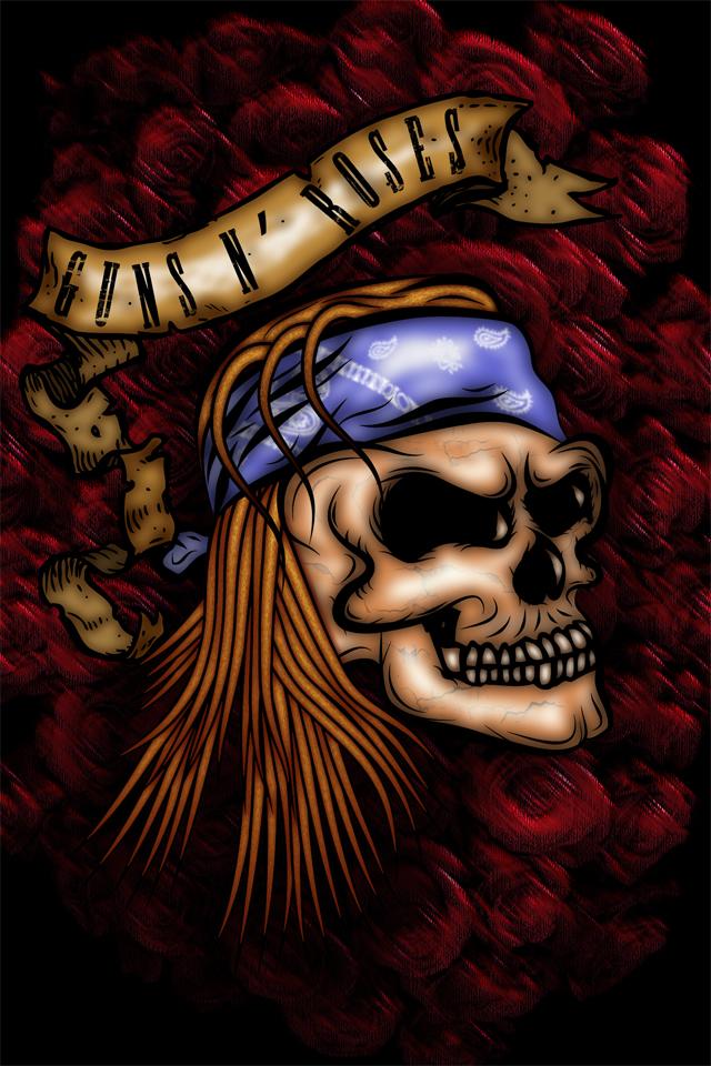 Guns N Roses IPhone Wallpaper By Tmueller21