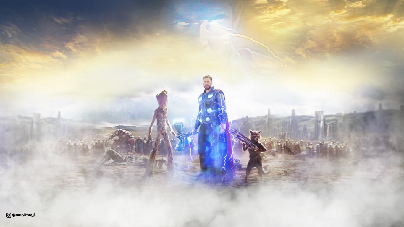 Thor Wakanda Wallpaper Avengers Infinity War By Ylmzdesign On Deviantart