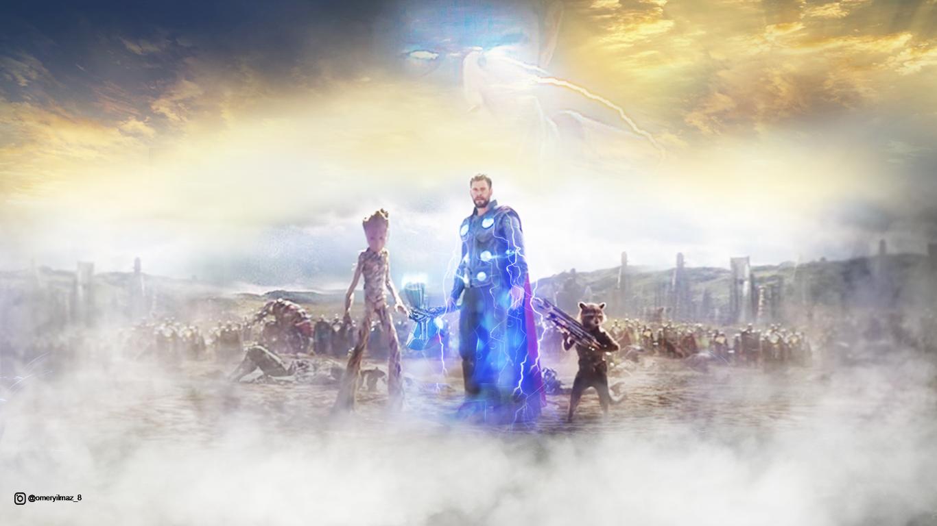 Thor Wakanda Wallpaper - Avengers