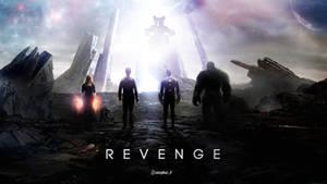 Revenge - Avengers and Thanos Wallpaper