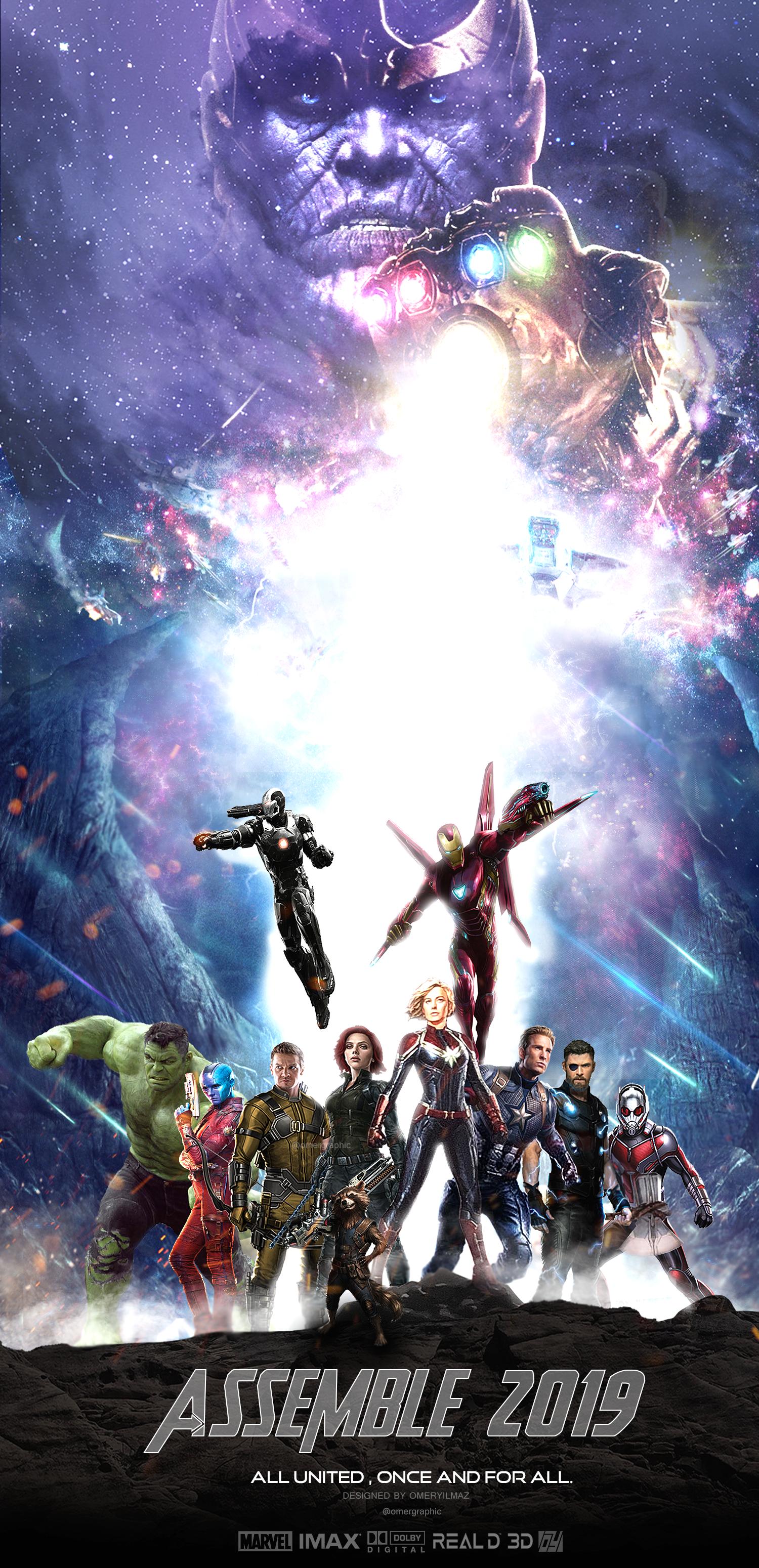 Avengers 4 Infinity War Part 2 Poster By Ylmzdesign On Deviantart