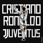 Cristiano Ronaldo Juventus Vector ART