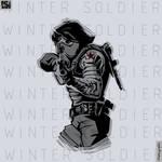 Winter Soldier Vector ART