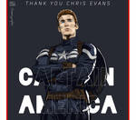 Captain Americ Illustration vector art