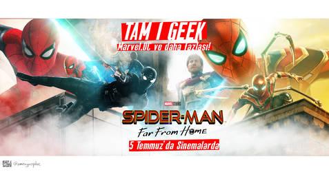 Facebook cover -TAM1GEEK-Spider Man Far frome home