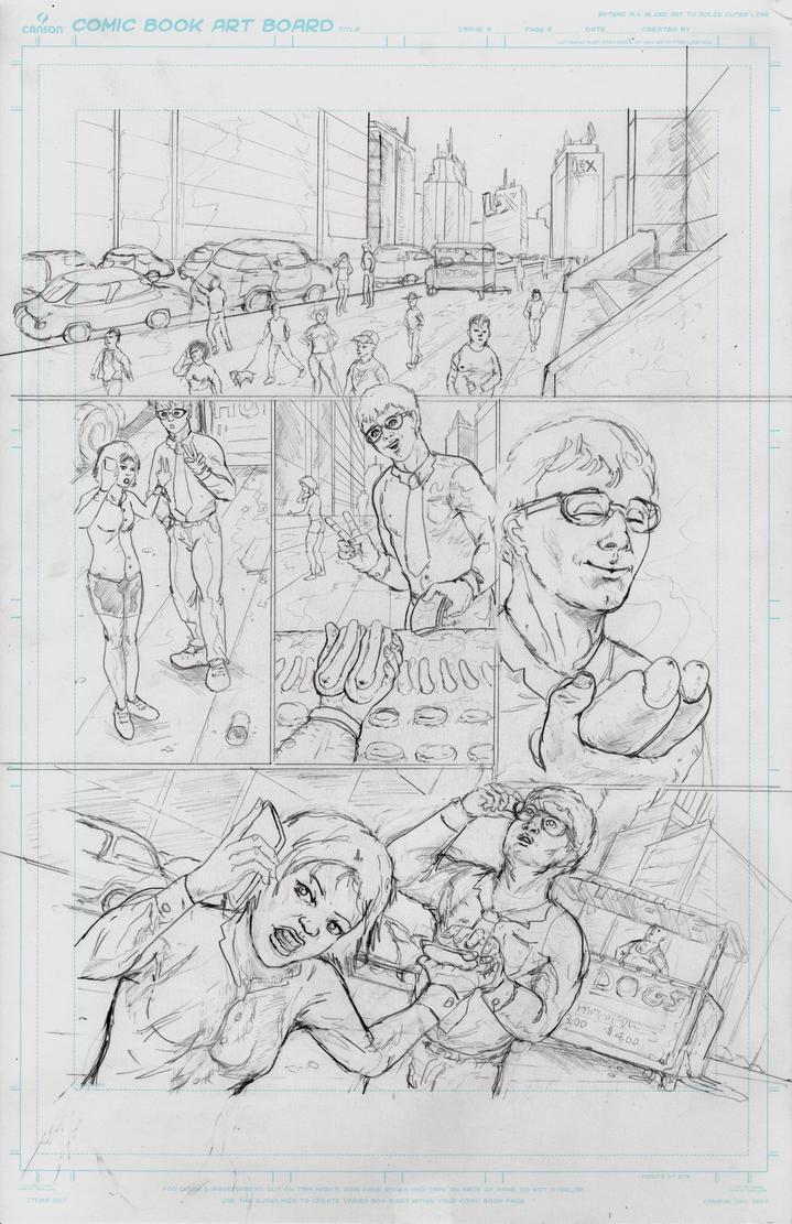Superman page 1 DC comics artist workshop by 08yo8387