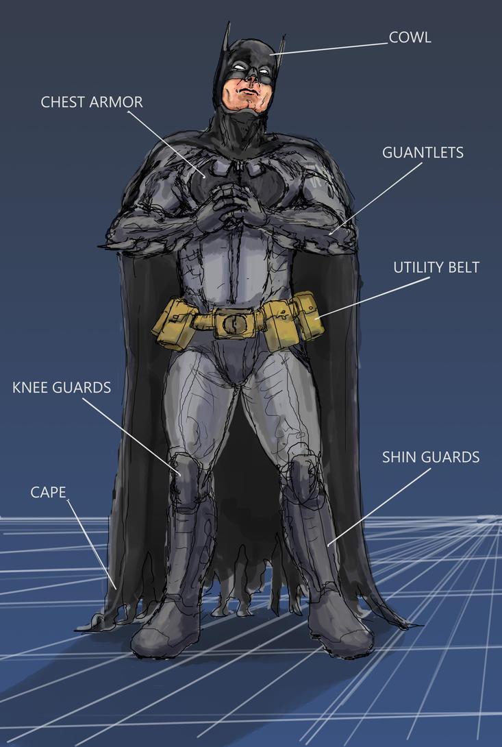 Batman Breakdown by 08yo8387