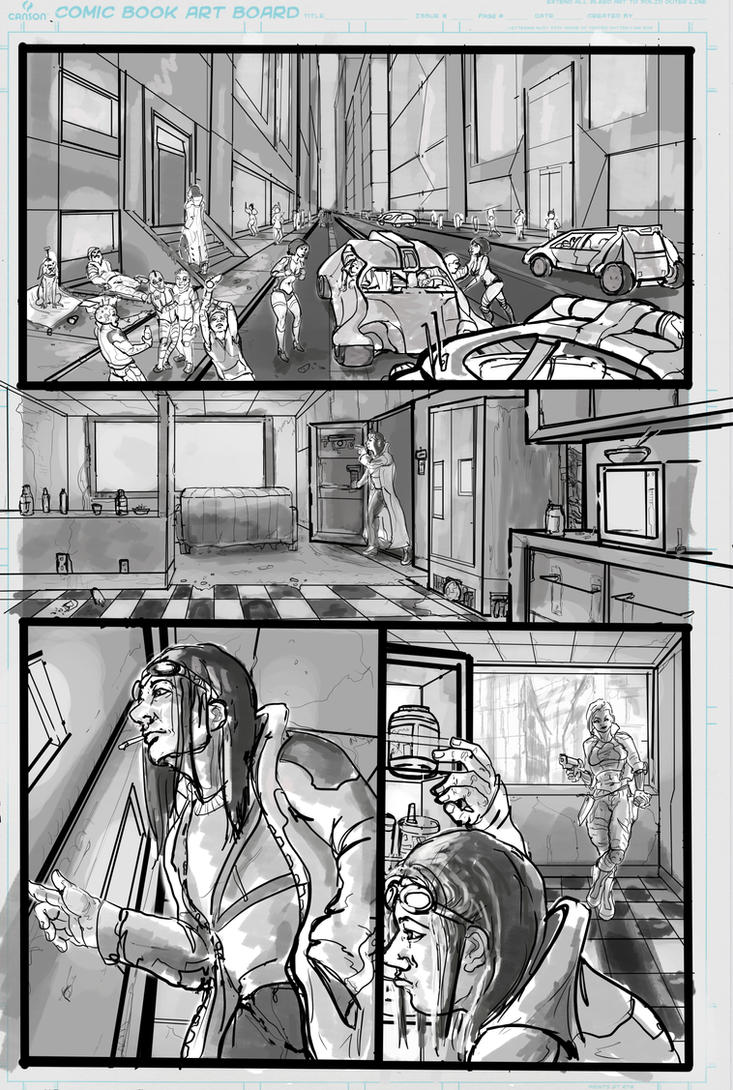 Midnight Task Force page 1 by 08yo8387