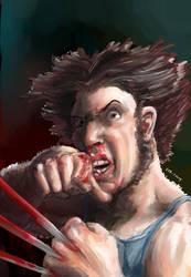 Wolverine by 08yo8387