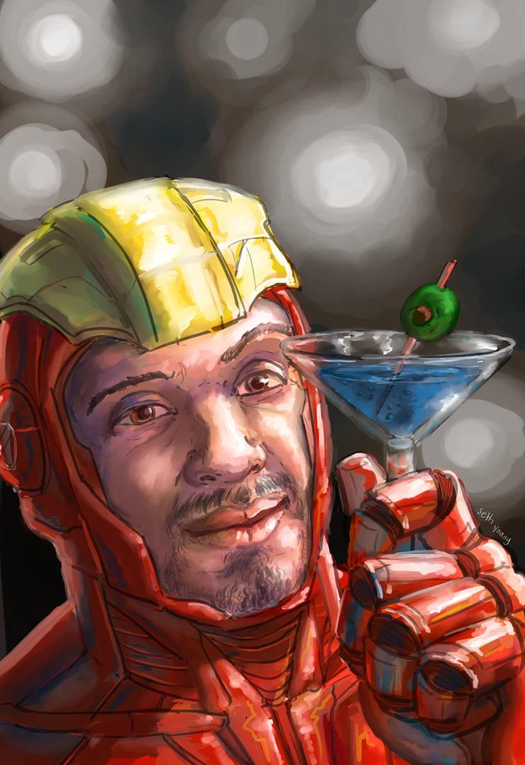 Tony Stark by 08yo8387