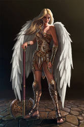 Arch Angel Teresa by aaronflorento