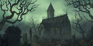 Graveyard Chapel by aaronflorento