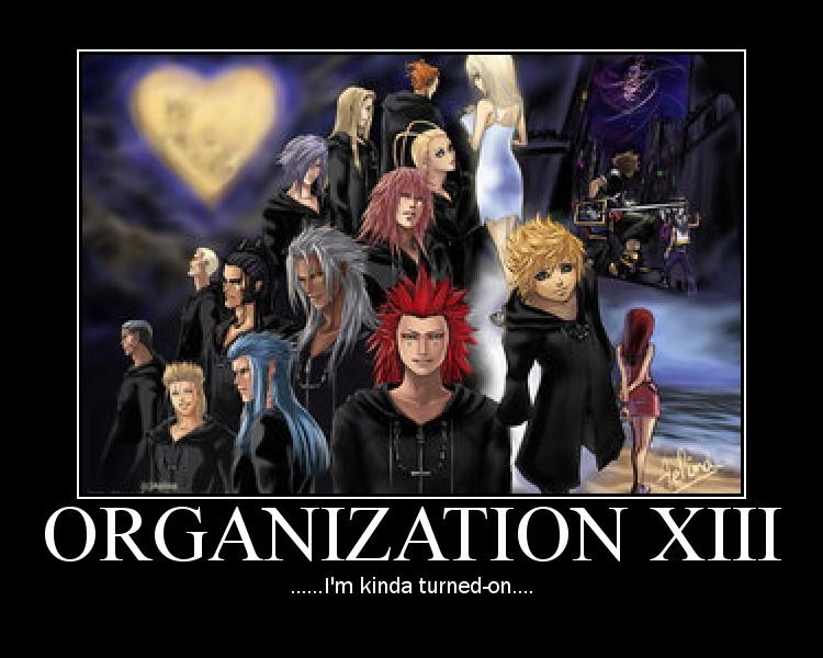 Organization XIII by gaveZexionmyHeart