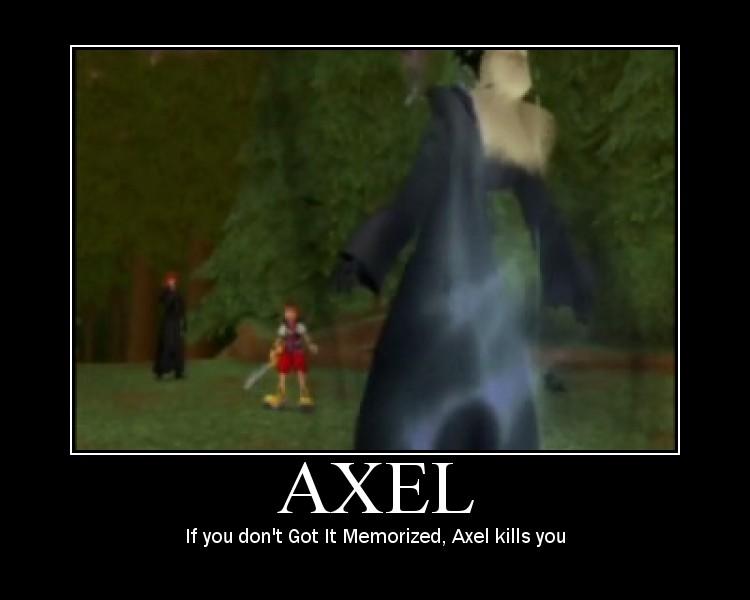 Axel by gaveZexionmyHeart