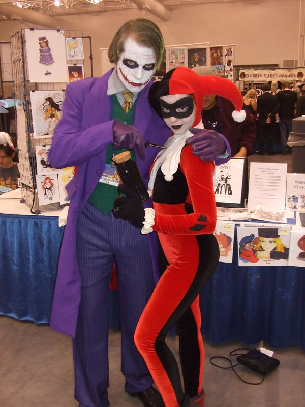 The Joker and Harley Quinn by ShoryukenFighter77
