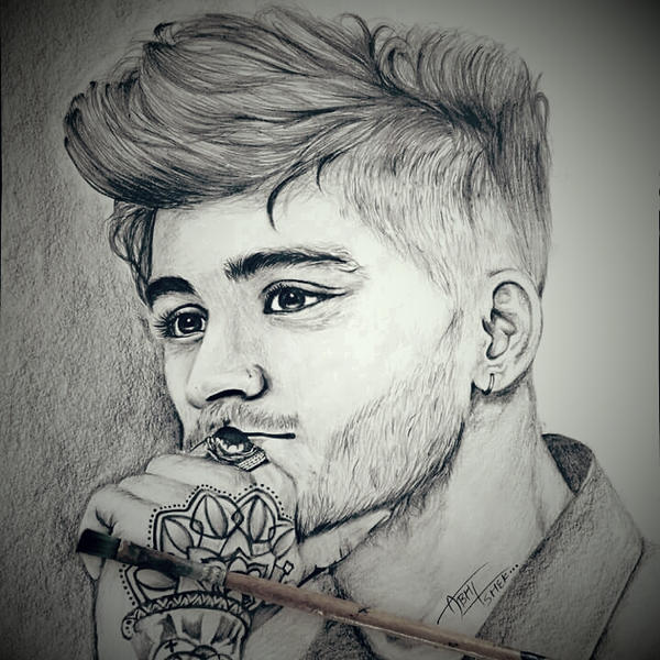 Zayn malik sketch by abhisketches