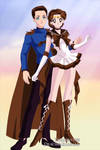 Sailor Earth and Captain Jack