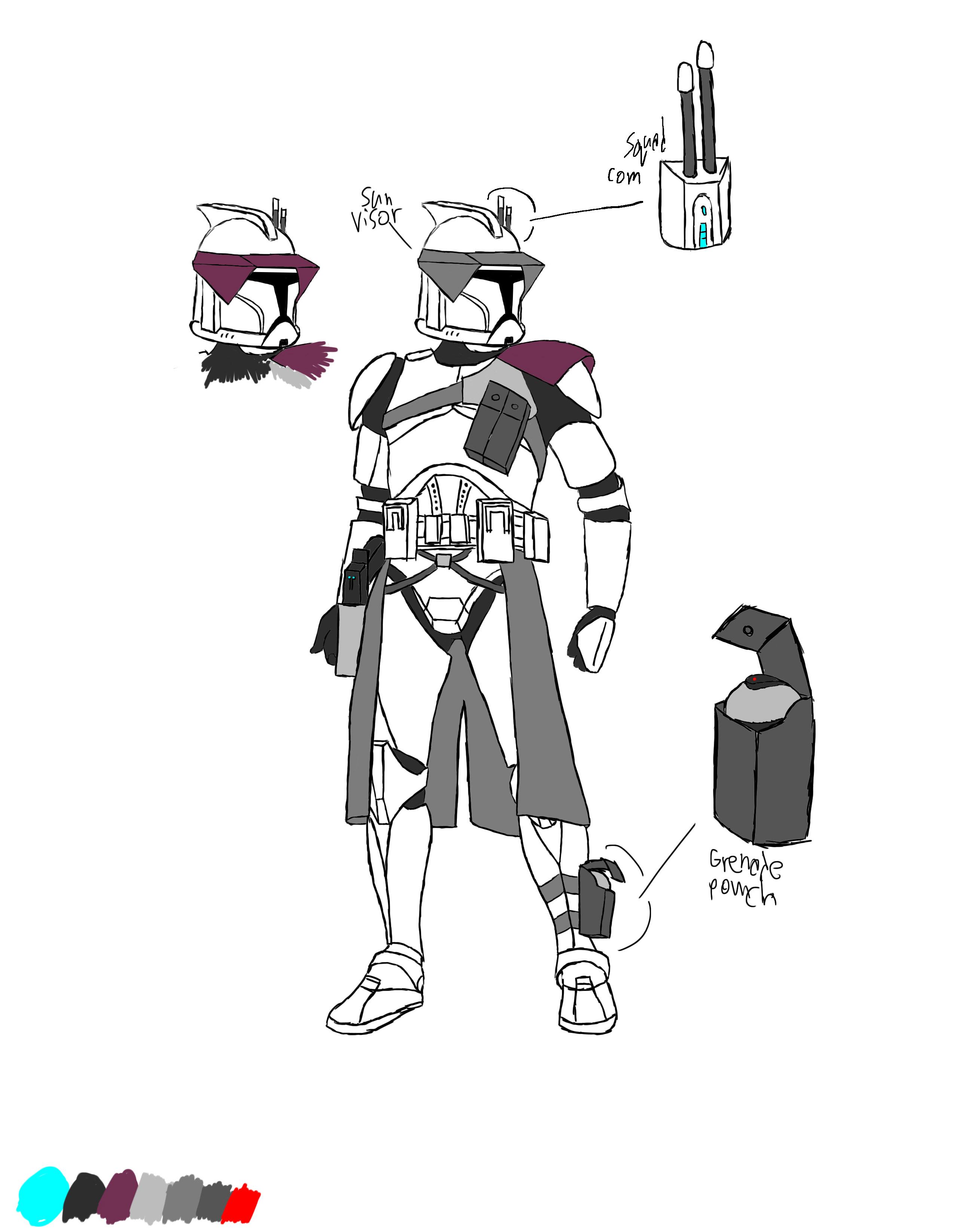 star wars clonetrooper concept - photo #16