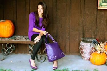 Purple Bag by masonfetzer