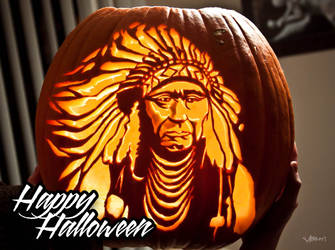 Indian Pumpkin by masonfetzer