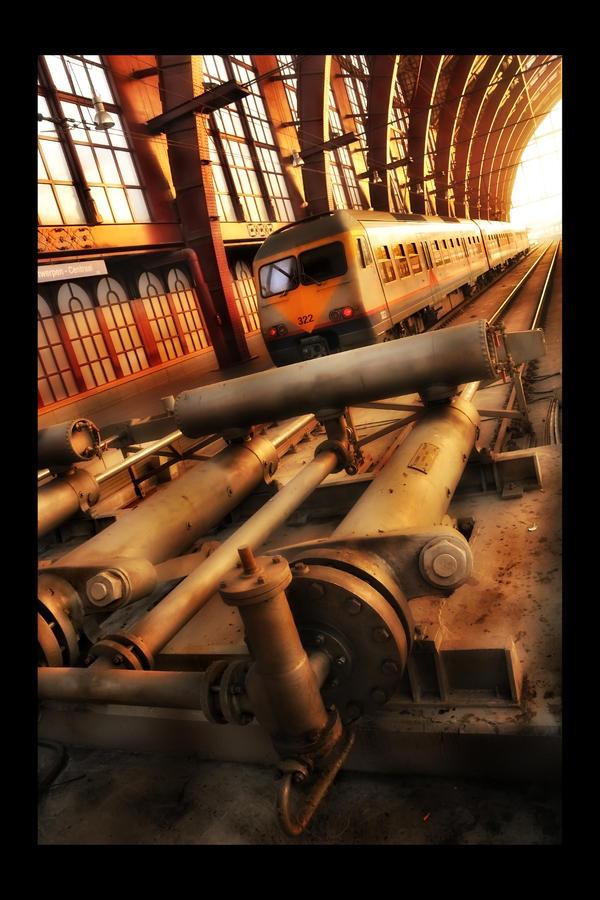 Platform 1 - Revisited by digitaldreamz666
