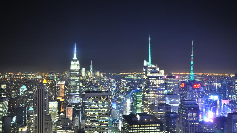 NYC at Night by digitaldreamz666