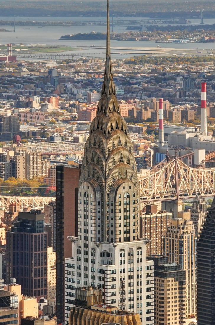 Chrysler Building by digitaldreamz666