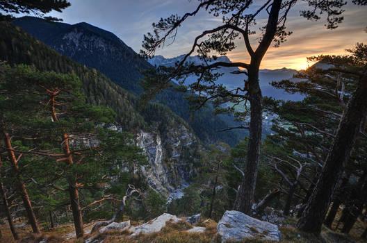 Zugspitze from Hohe Fricken