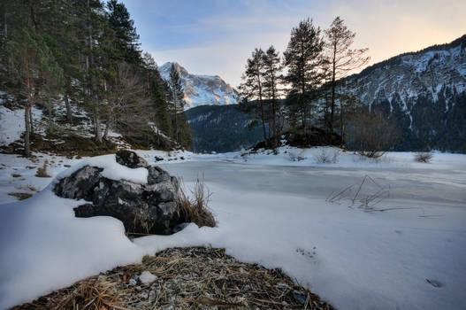 Last Winter Sunset