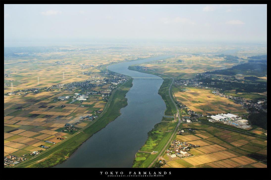Tokyo Farmlands - River by yukazunori