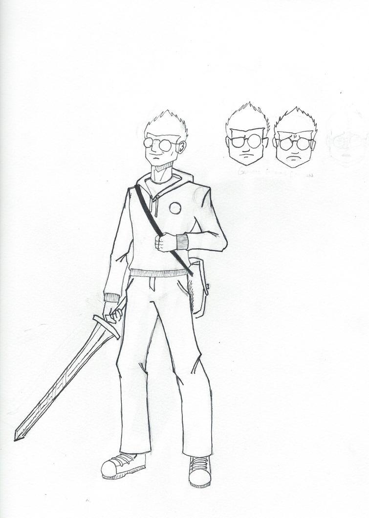 My Deviantart persona, by fishgutsconquersall