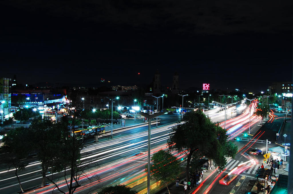 Mexico city always moving by LoreeJoe