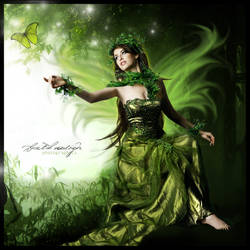 Fairly forrest fairy by brethdesign